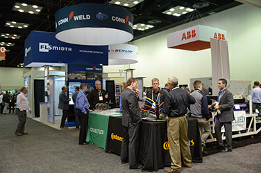 AGG1 exhibiting floor